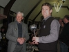 Dave Holland receives the Soper Memorial Trophy