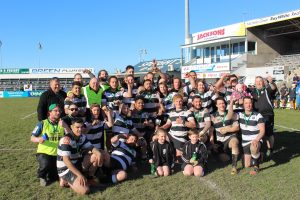 2017 Temuka Senior B wins the Glover Cup championship for the 3rd year in a row.