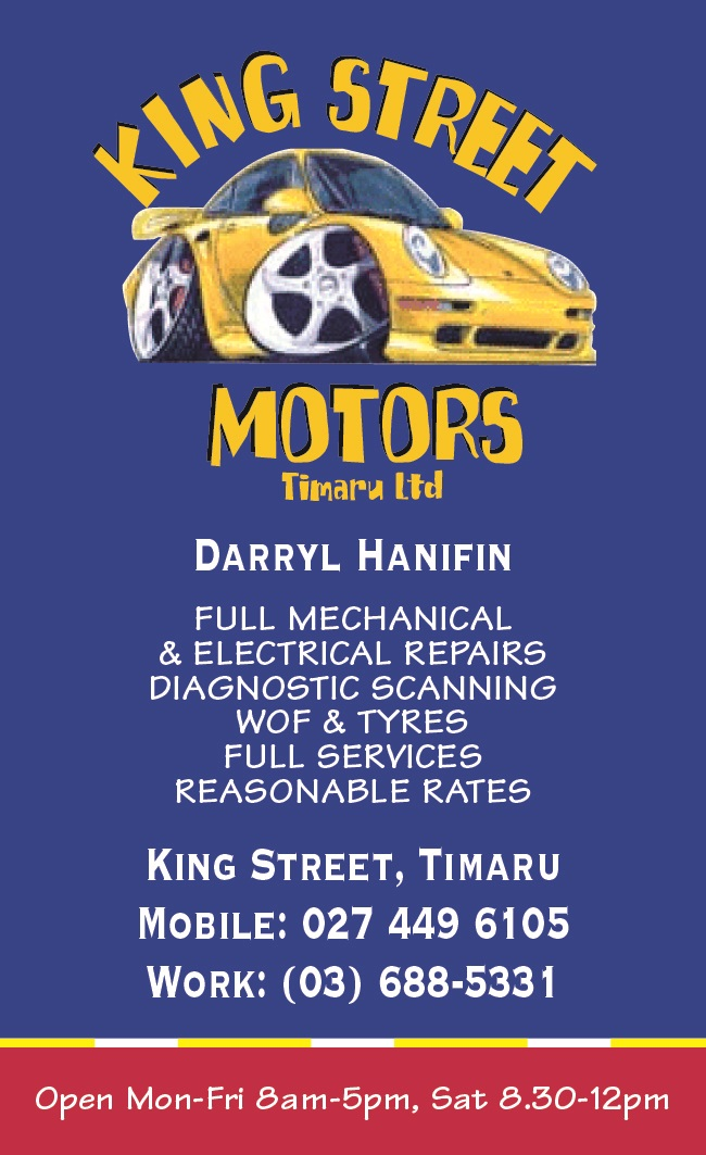 King Street Motors Ltd, Timaru